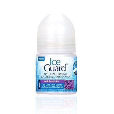 Optima Ice guard deodorant roll on lavendel