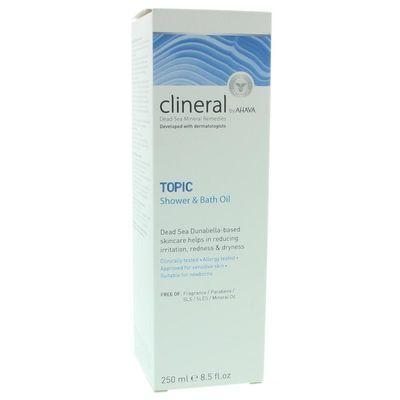 Ahava Clineral topic shower & bath oil