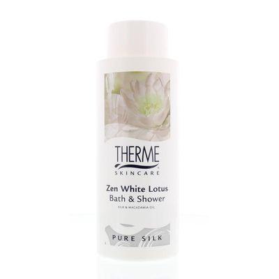 Therme Bath & shower white lotus