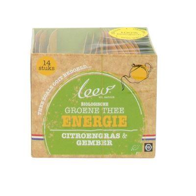 Leev Thee energie citroen & gember