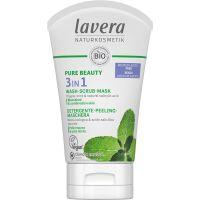 Lavera Pure Beauty 3in1 reiniger - peeling - masker