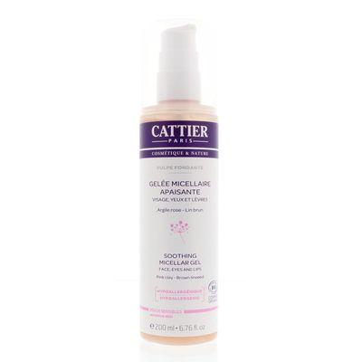 Cattier Verzachtende micellair gel gevoelige huid