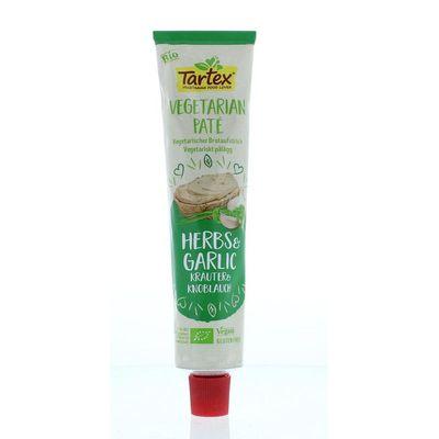 Tartex Tube vegetarische pate kruiden & knoflook