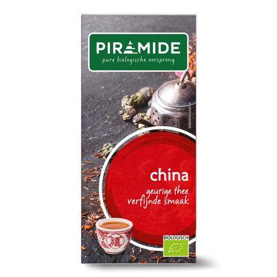 Piramide China thee looizuur arm