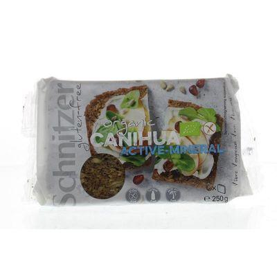 Schnitzer Canihuabrood met pompoenpitten