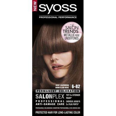 Syoss Color baseline 6-82 rose lichtbruin haarverf