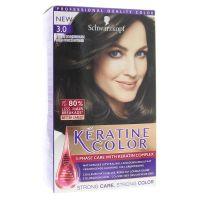Schwarzkopf Keratine Color haarverf 3.0 Intense Donkerbruin