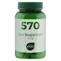 AOV 570 IJzer bisglycinaat 15 mg