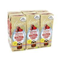 Leev Fruitwater aardbei en kers