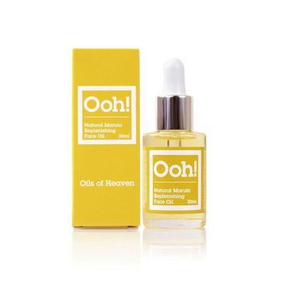 Ooh! Organic marula replenishing face oil