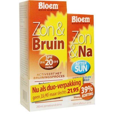 Bloem Duo zon 100 ml & na zon & bruin 200 ml