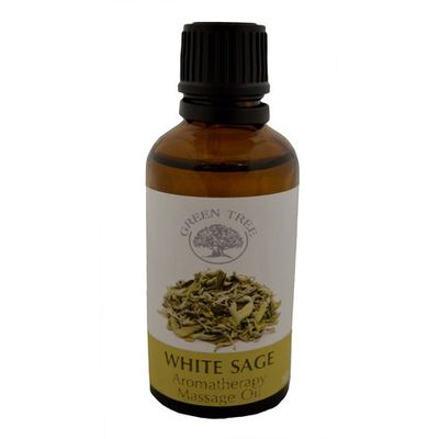 Green Tree Massage olie witte salie