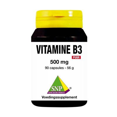 SNP Vitamine B3 500 mg puur