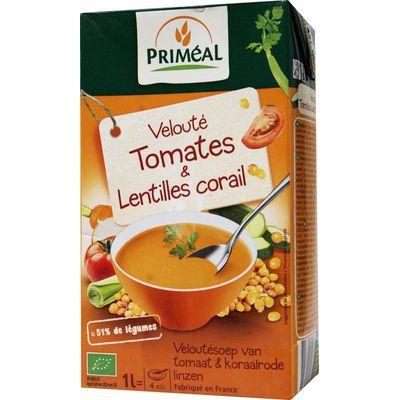 Primeal Veloute soep tomaat-linzen