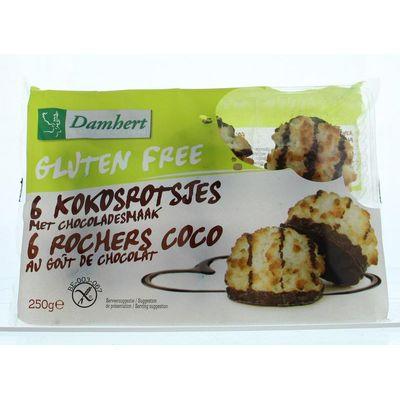 Damhert Kokosrotsen chocolade glutenvrij