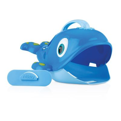 Nuby Badspeeltjeshouder walvis