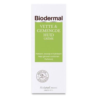 Biodermal Vet & gemengde huid creme