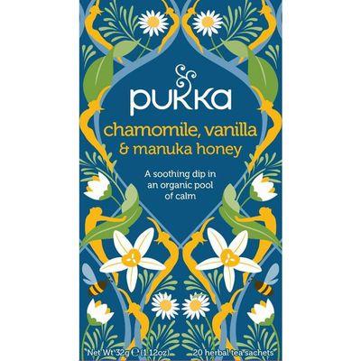 Pukka Org. Teas Chamomile vanille/manuka honing
