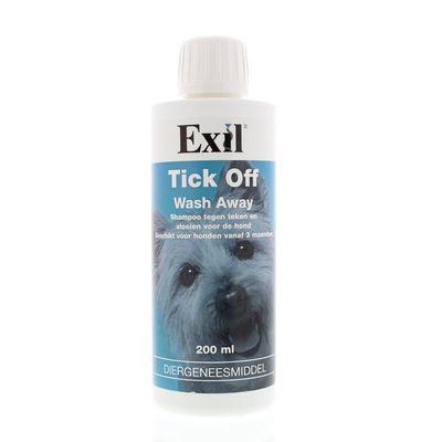 Exil Tick off wash away shampoo