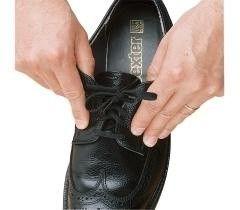 Able 2 Elastische schoenveters zwart 61 cm