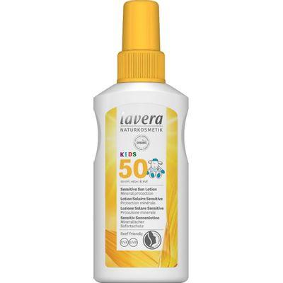 Lavera Zonnebrand/sun spray kids SPF50+