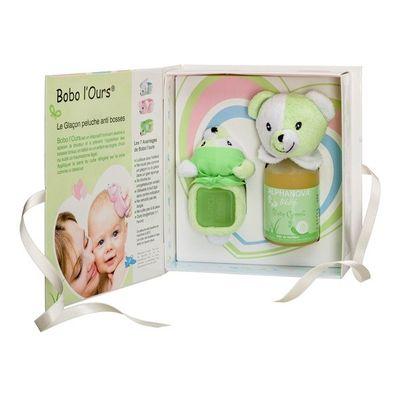 Alphanova Baby Baby giftset bobo green
