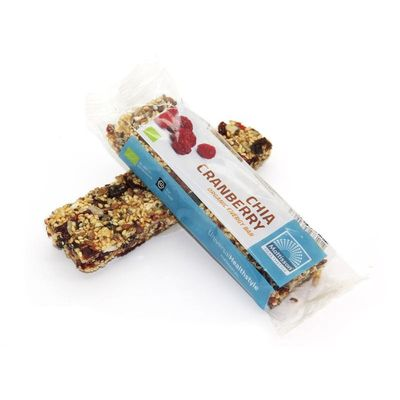 Mattisson Organic energy bar chia cranberry