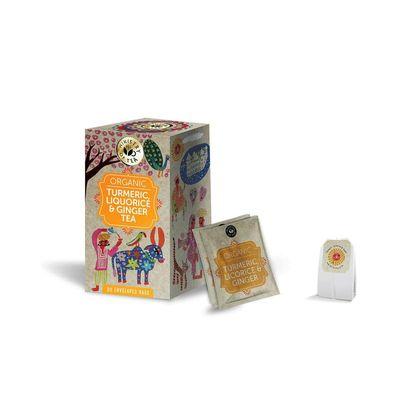 Ministry Of Tea Tumeric liquorice ginger bio