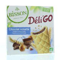 Bisson Deli go chocolate hazelnoot