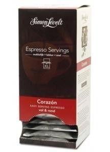 Simon Levelt Espresso Corazón bio servings 7 gram