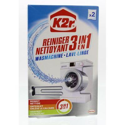 K2R Wasmachinereiniger 3 in 1