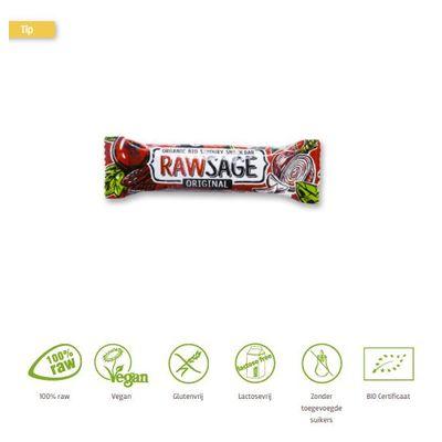 Lifefood Rawsage original hartige snackreep bio