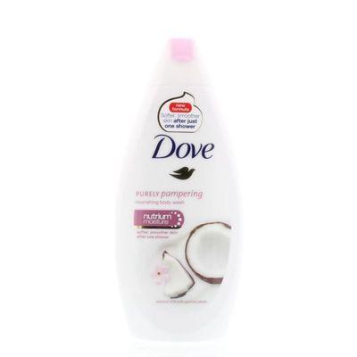 Dove Shower coconut milk