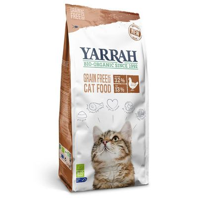 Yarrah Kat droogvoer kip & vis graanvrij