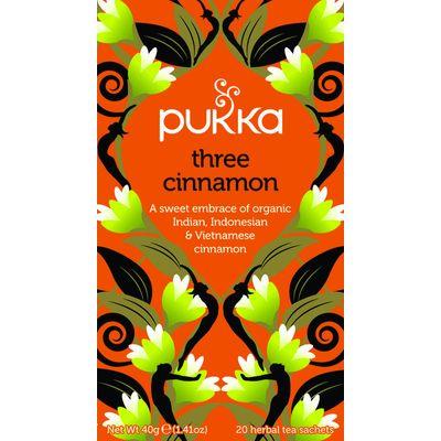 Pukka Org. Teas Three cinnamon
