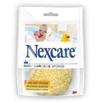 Nexcare Baby caresse badspons geel latexvrij
