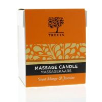 Treets Massage candle sweet mango & jasmin