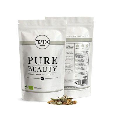 Teatox Bio Thee Pure beauty white tea mango bio refill