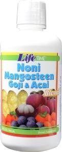 Life Time Organic noni mangosteen goji
