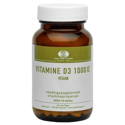 Pigge Vitamine D 1000IE vegan