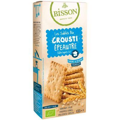 Bisson Biscuits crunchy spelt