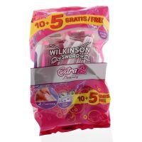Wilkinson Extra2 beauty 10 + 5 gratis