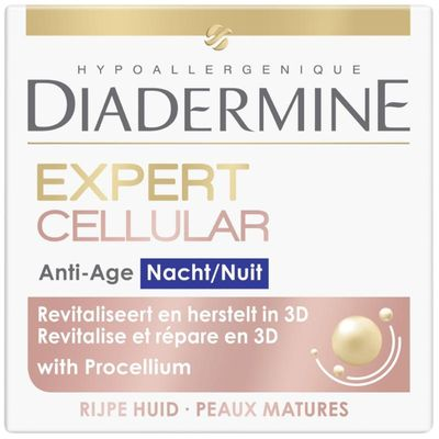 Diadermine Cellular expert 3D night nachtcreme