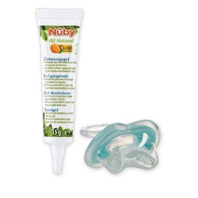 Nuby Citroganix tandvlees gel + teether
