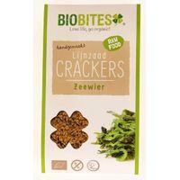 Biobites Raw food lijnzaad cracker zeewier