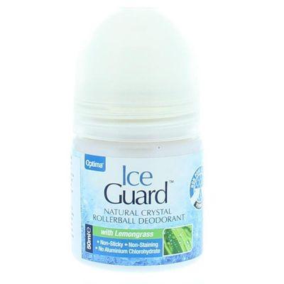 Optima Ice guard deodorant roll on lemongrass