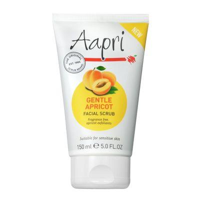 Aapri Gezichtscrub gevoelige huid gentle apricot