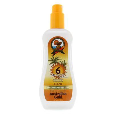 Australian Gold Spray gel SPF6