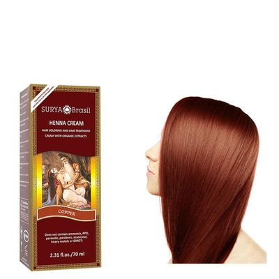 Surya Brasil Henna haarverf creme copper