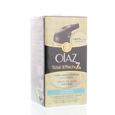 Olaz Total effects 7 in 1 dagcreme parfumvrij